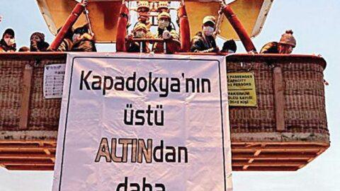 Kapadokya'ya altıncılar göz dikti