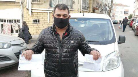 Aracı olmayan şahıs hiç gitmediği şehirlerde trafik cezası yedi