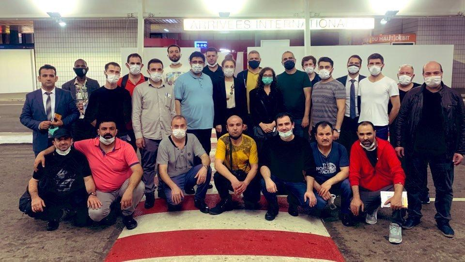 Kaçırılan Türk gemisi için ekip Gabon'da