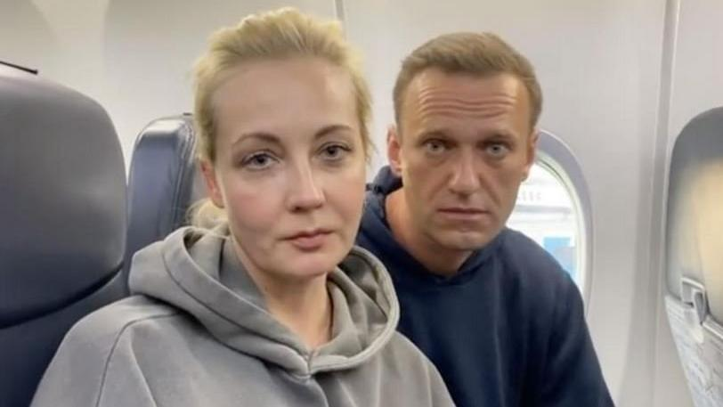 Rus polisinden Navalny'nin evine ve vakfına baskın