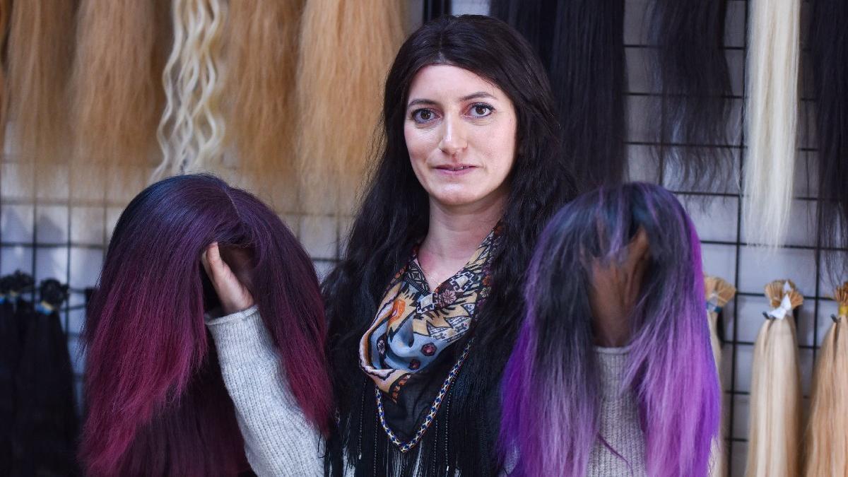 'Türk saçı'nın kilosu 10 bin lira