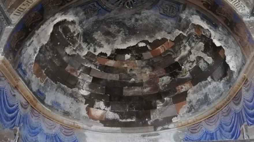 2 asırlık tarihi kilise yıkılma tehlikesiyle karşı karşıya