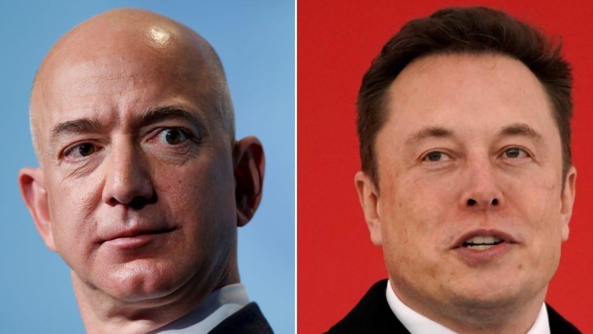 Dünyanın en zengin iki insanın uzay kavgası