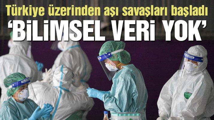 Türkiye üzerinden corona virüsü aşısı savaşları