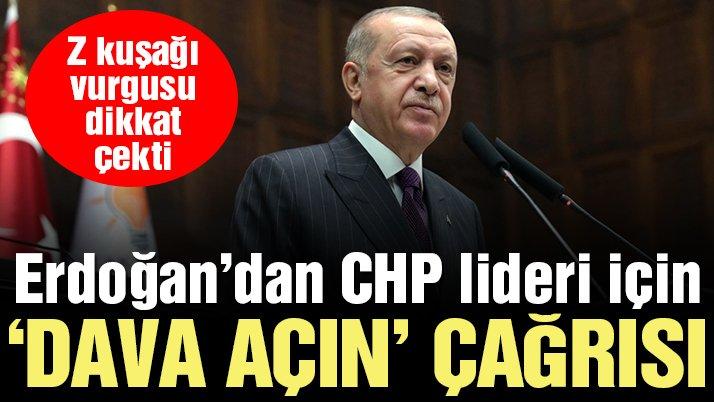 Son dakika… Erdoğan'dan Kılıçdaroğlu için 'dava açın' çağrısı