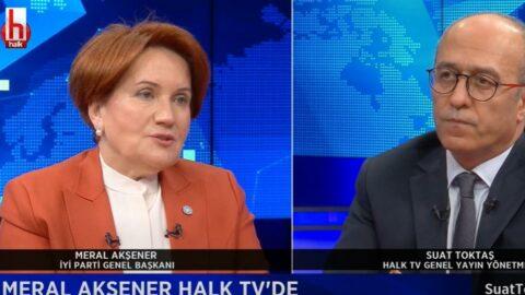 Akşener'den dikkat çeken ittifak açıklaması: CHP yalnız kalsın diye ittiren bir el var