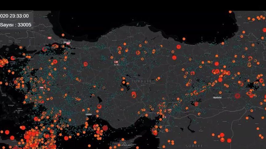 AFAD 2020'nin deprem raporunu paylaştı: 1 yılda 33 bini aşkın deprem yaşandı