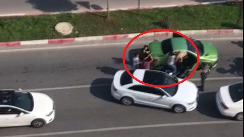 Trafikte üç kadını sopayla döven adamın cezası belli oldu