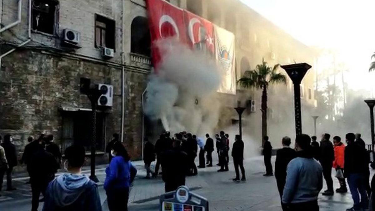 Mersin Büyükşehir Belediyesi'nde patlama