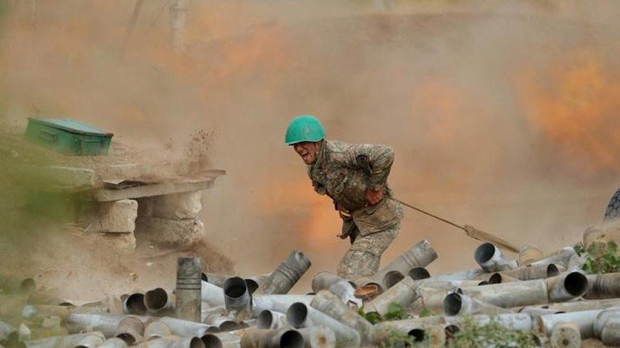 Azerbaycan'ın işgalden kurtardığı Fuzuli'de mayın patlaması