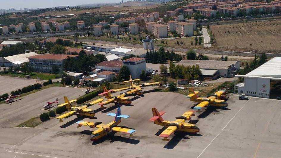Yangın söndürme uçağı ihalesi mecburen iptal edildi