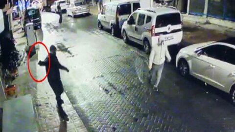 Beyoğlu'nda korku dolu anlar: Böyle kurşunladılar