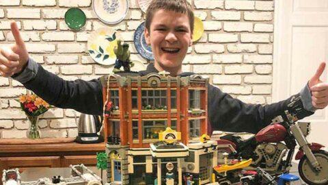 12 yaşındaki Haddon Haste en hızlı Lego rekoruyla Guinnes'te