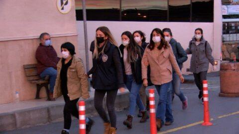 Boğaziçi protestolarında gözaltına alınan 51 kişi adliyede