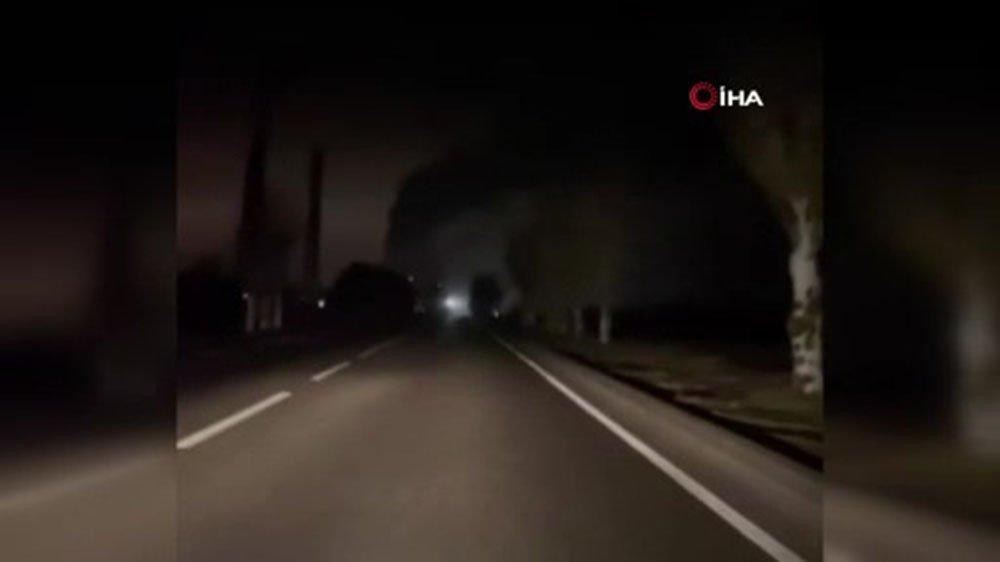 Ukrayna'da termik santralde patlama