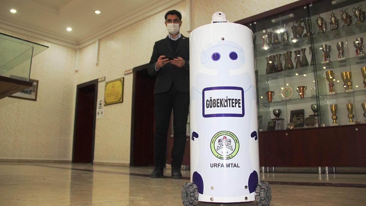 Corona hastalarına robotlar müdahale edecek