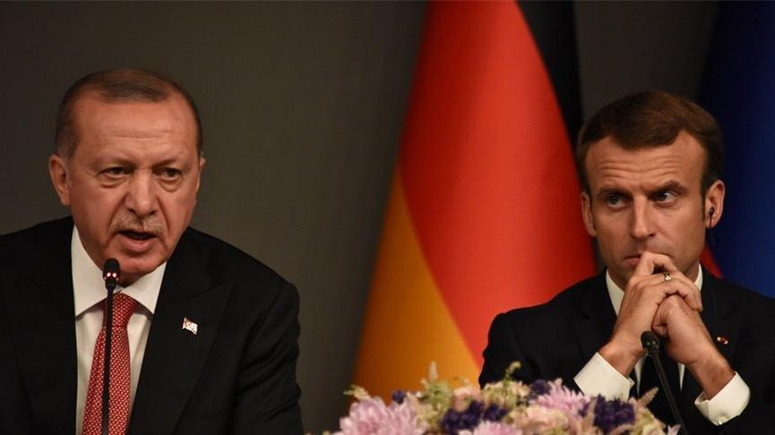 Macron: Erdoğan'ın Batı'ya tavrının yumuşamasından memnunum