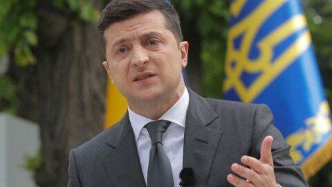 Ukrayna Devlet Başkanı Zelenskiy'den bir ilk