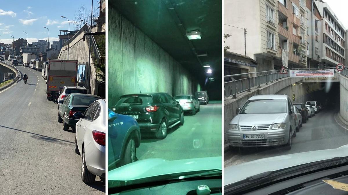 İstanbul'un göbeğinde milyonlar harcanan tünel ve köprü, otoparka döndü