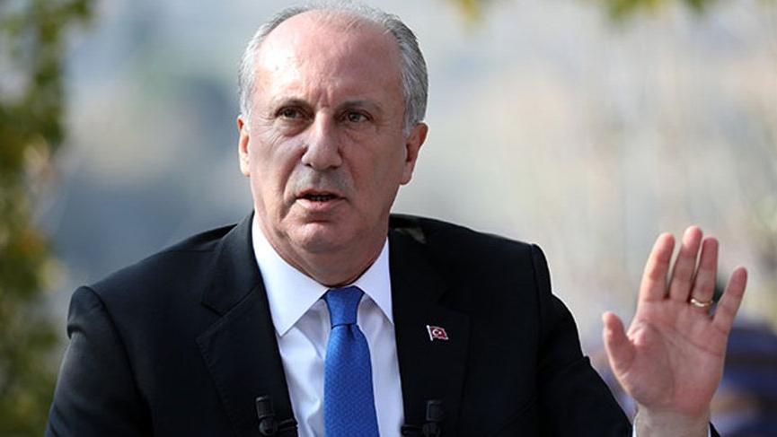 Muharrem İnce'den Erdoğan'ın açıkladığı Milli Uzay Programı'na tepki