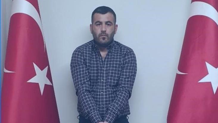 MİT'in yakaladığı terörist Türkiye'ye getirildi