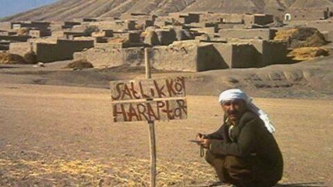 Züğürt Ağa filminin Haraptar Köyü'nde şimdi başka bir film çekiliyor...