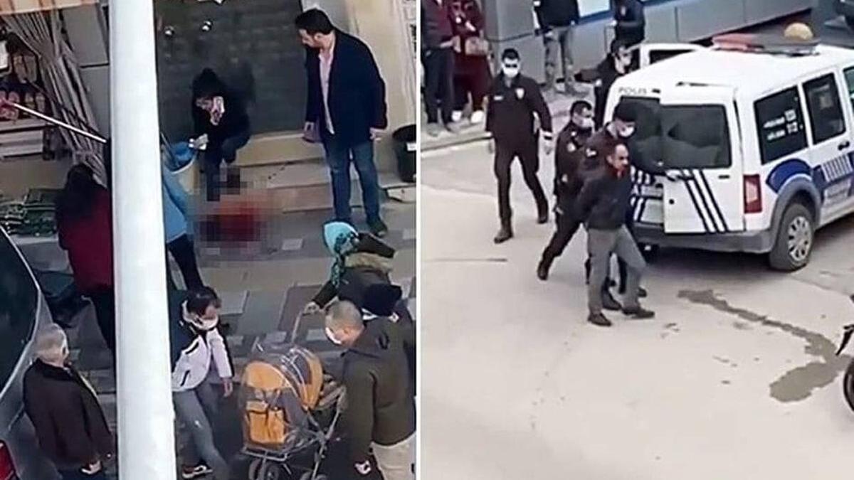Kızını bıçaklayan babanın ifadesi ortaya çıktı! Görüntüler kan dondurdu