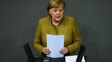 Merkel'den kısıtlama sözü