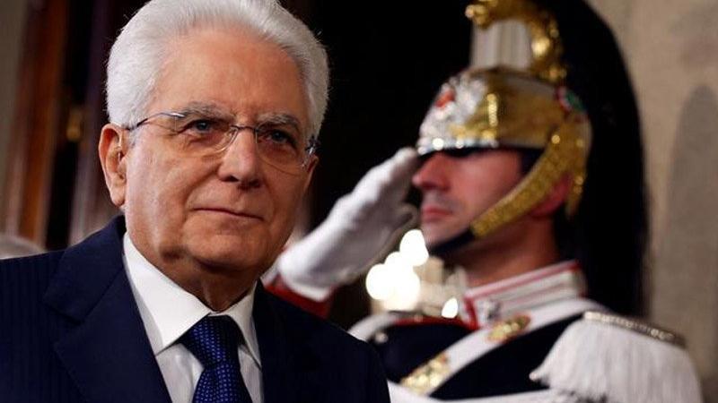 İtalya'da yeni kabine Cumhurbaşkanı Mattarella'ya sunuldu