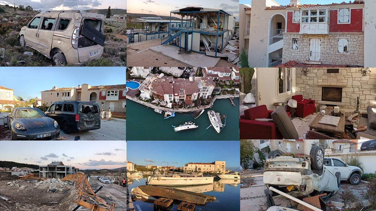 İzmir'deki felaketin boyutu gün ağarınca ortaya çıktı