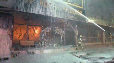 İSTOÇ Ticaret Merkezi'nde yangın
