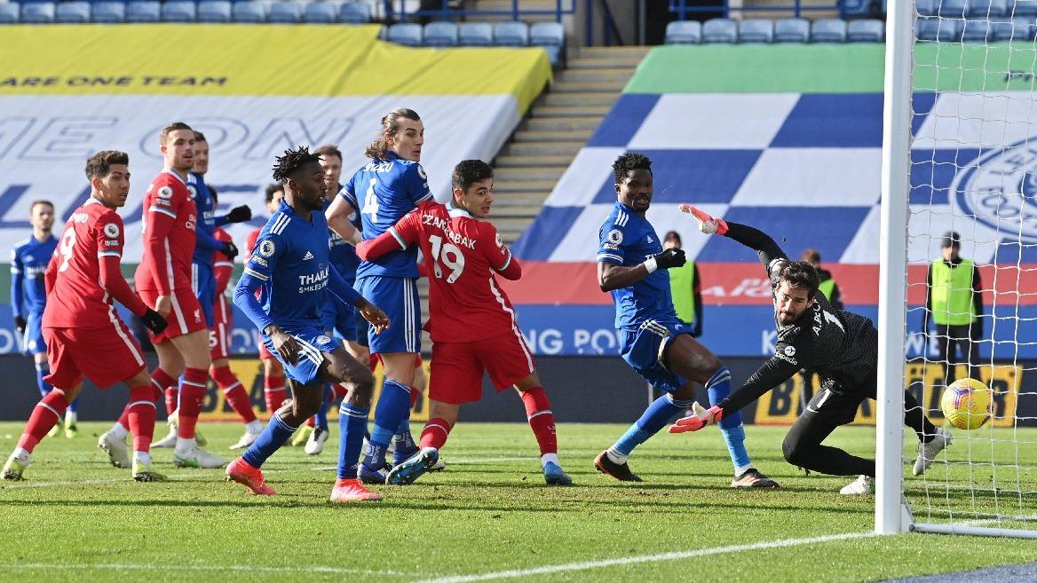 Premier Lig'de Türk derbisi... Leicester City Liverpool... Çağlar Söyüncü Ozan Kabak