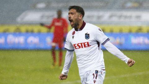 Gaziantep FK'yı deviren Trabzonspor, Bakasetas'la seriye bağladı!