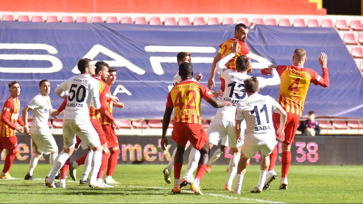 MAÇ SONUCU   HES Kablo Kayserispor 0-0 MKE Ankaragücü