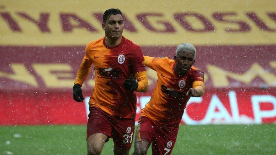 Galatasaray'ı Mostafa ısıttı… Aslan zirveyi son dakikada geri aldı