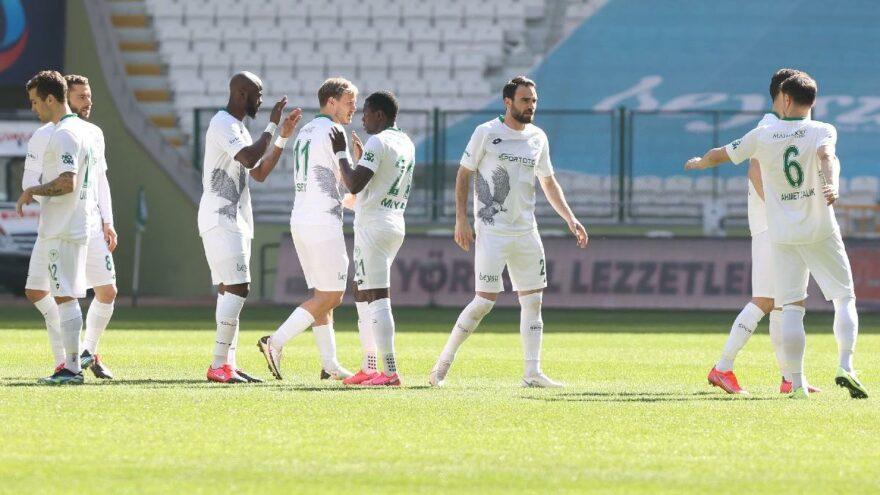 Konyaspor hayata döndü! 5 maç sonra galibiyet…