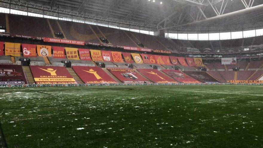 Galatasaray Kasımpaşa maçı oynanacak mı? Türk Telekom Stadı'nda son durum…