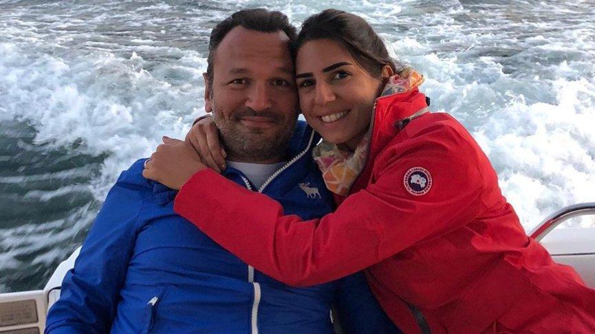 Ali Sunal-Nazlı Kurbanzade çiftinden güzel haber