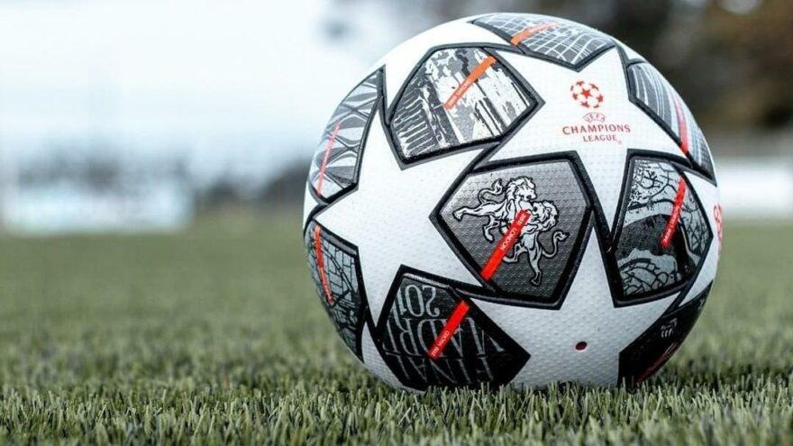 Şampiyonlar Ligi Finali'nin 'İstanbul' temalı topu tanıtıldı