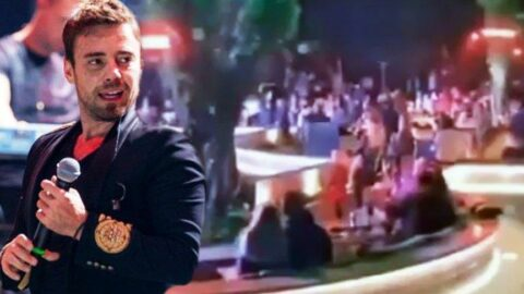 Murat Dalkılıç beş yıldızlı otelde konser verdi! Sosyal medyada tepki yağdı
