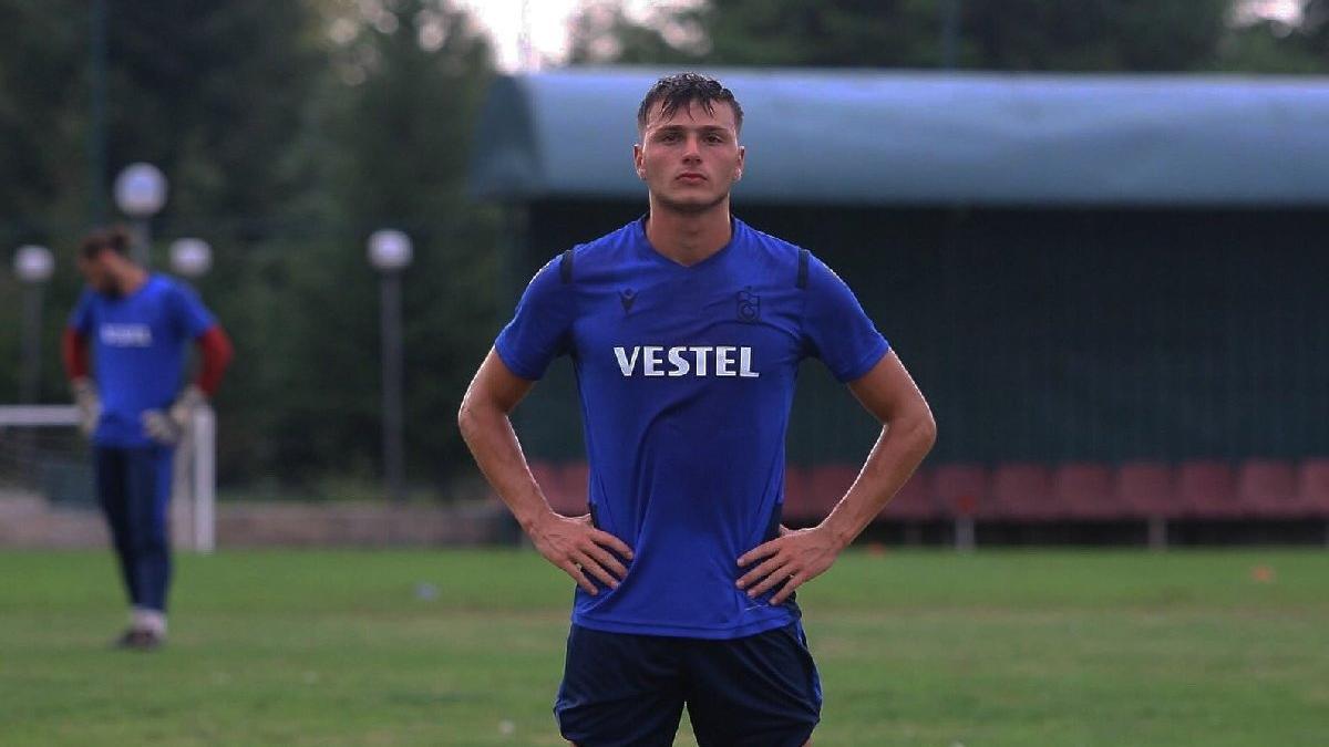 Trabzonspor'da dikkat çeken isim Taha Cevahiroğlu