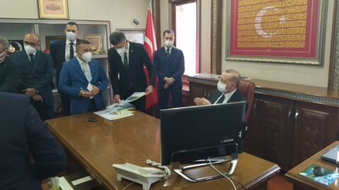 Cumhurbaşkanı Erdoğan ziyaret etmişti, temaslı şüphesiyle izolasyona girdi