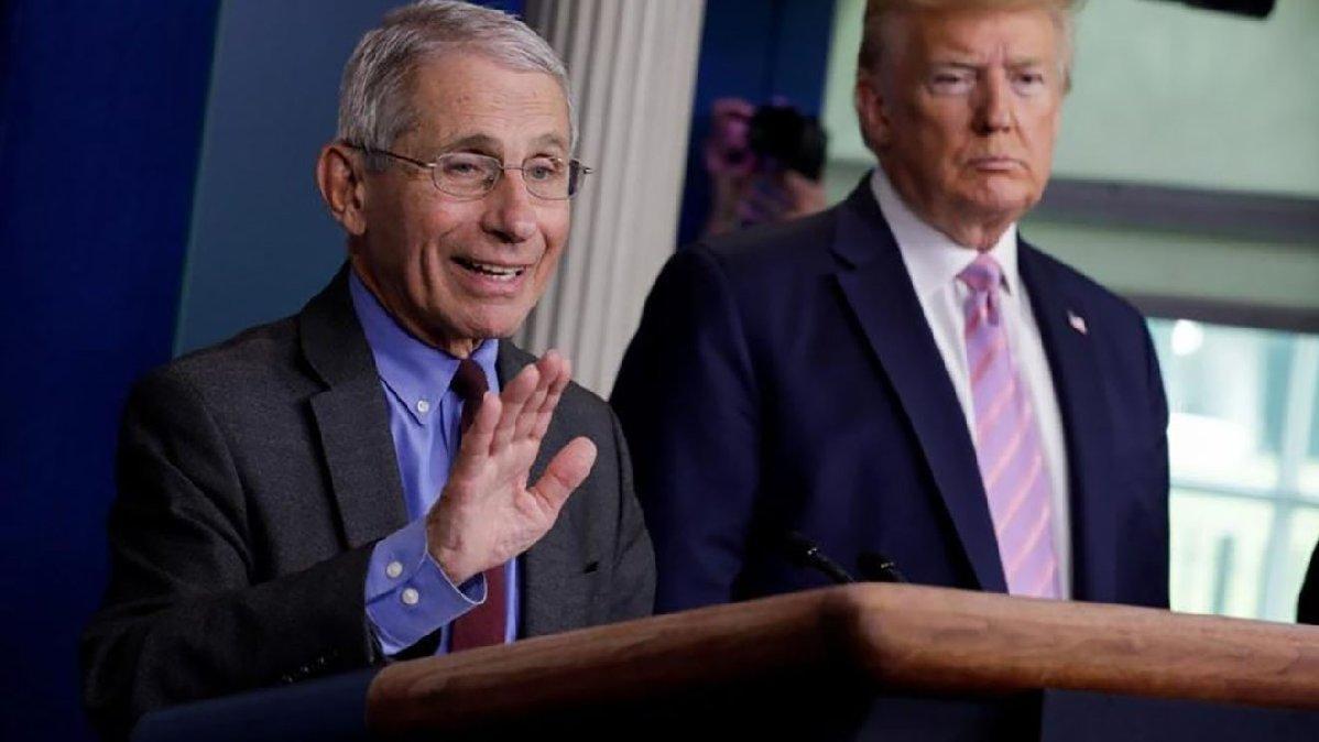 Dr. Fauci'den Trump dönemi itirafı: Saraya gitmeye çekiniyordum