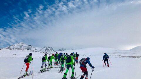 Erzurum'da dağ kayağı keyfi