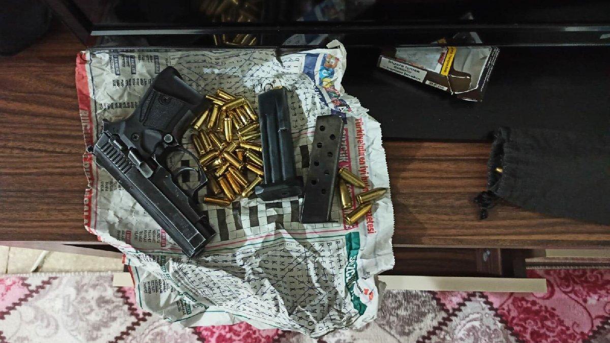 Silah kaçakçılarına şafak baskını: 40 gözaltı