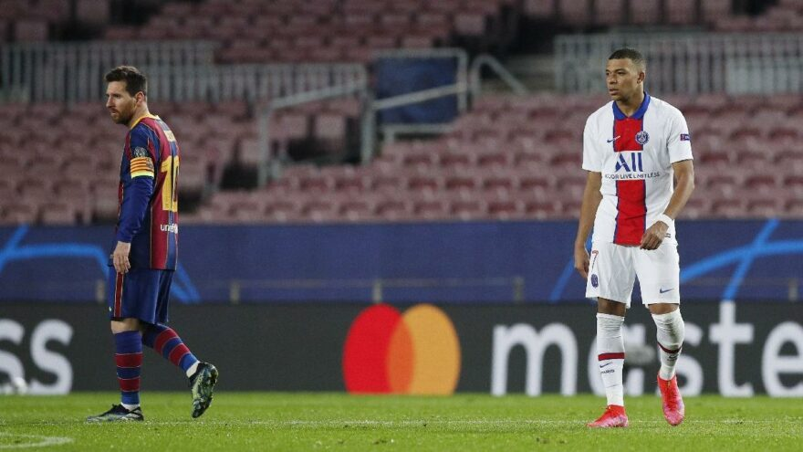 Bir efsanenin doğuşu: Kylian Mbappe! Barcelona'lı oyuncuları mahvetti…