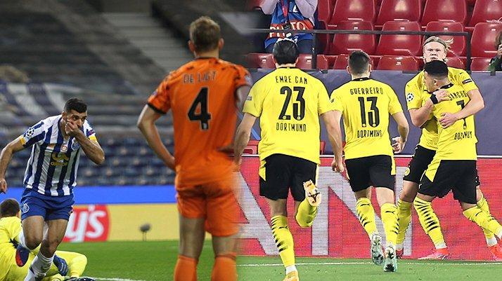 Şampiyonlar Ligi Son 16 Turu | Porto 2-1 Juventus / Sevilla 2-3 Dortmund