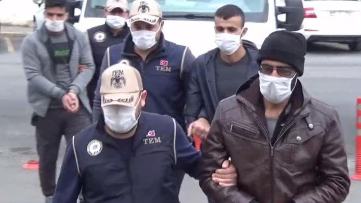 IŞİD terör örgütünün kilit isimleri Şanlıurfa'da yakalandı