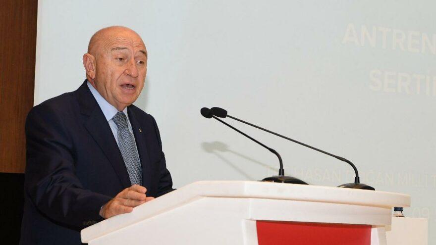 Nihat Özdemir'den Süper Lig için seyirci açıklaması: 1 Nisan'a kadar yok