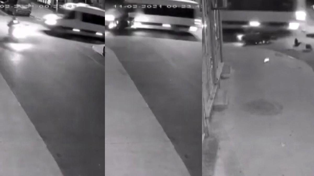 Pendik'te feci motosiklet kazası